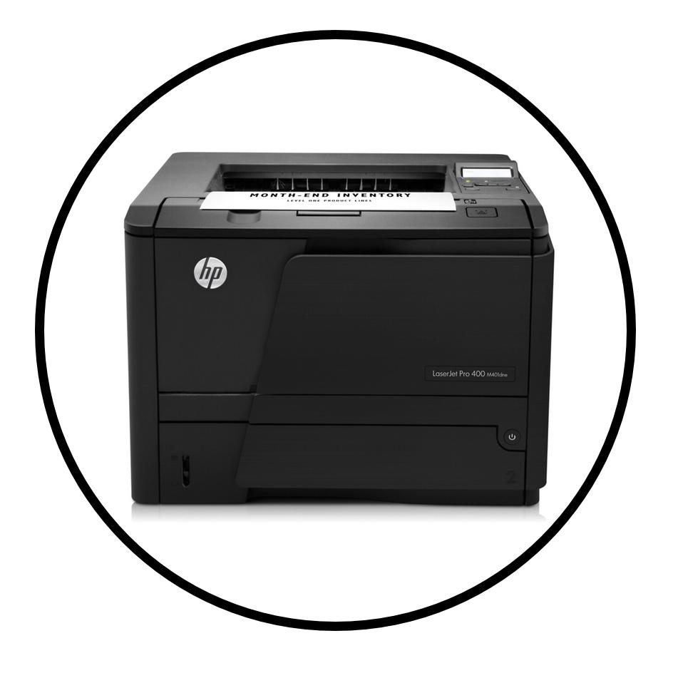 Printer Sales, Service & Repairs.