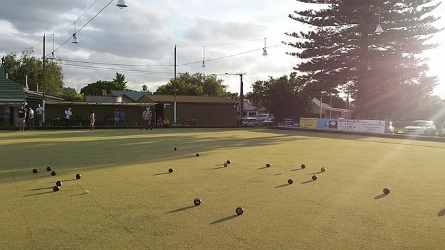Lovely night for a roll. Night Owls at the Millswood Bowling Club. Photo: Greg Barila