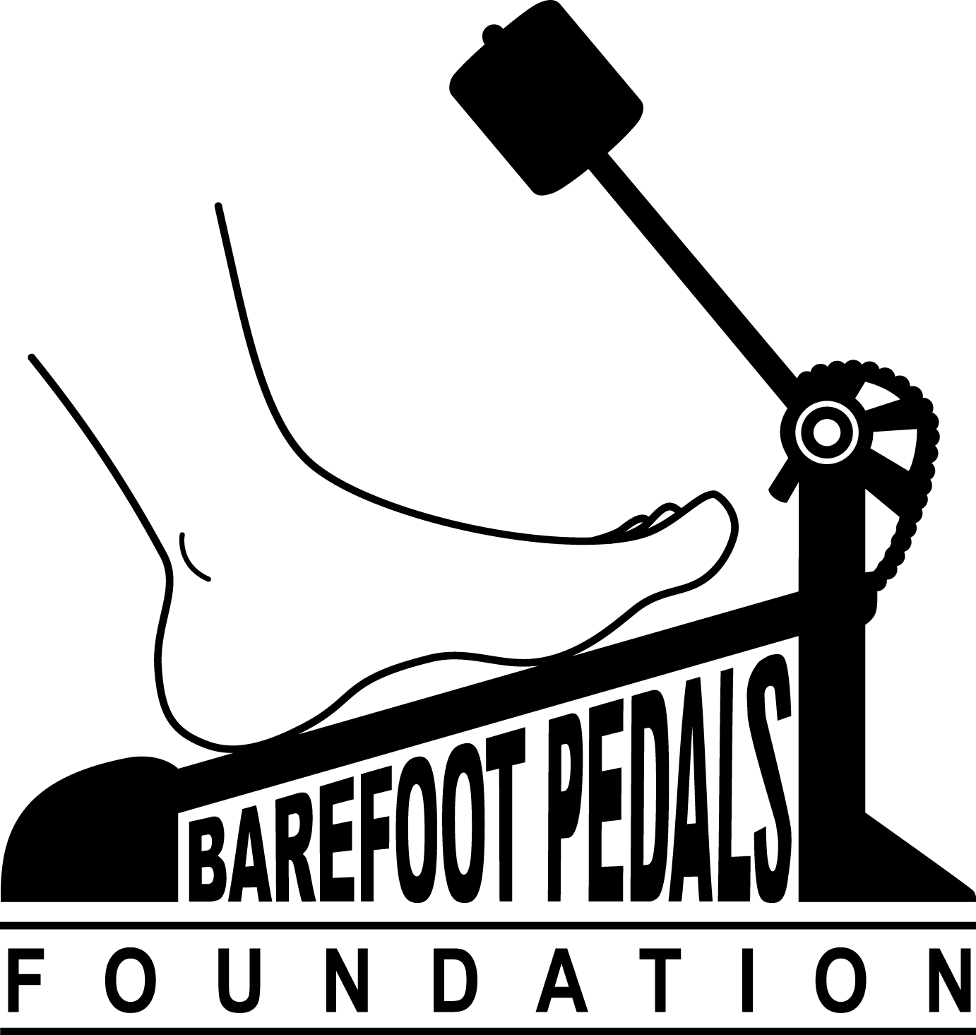 Barefoot Pedals Foundation logo