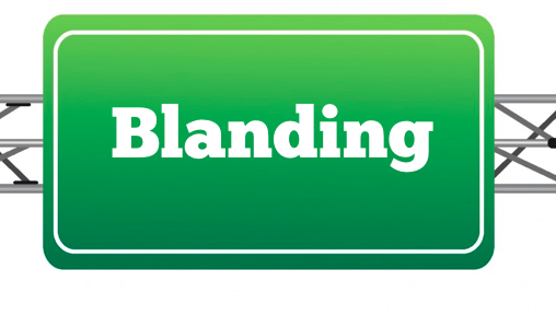 Blanding Road Sign.png