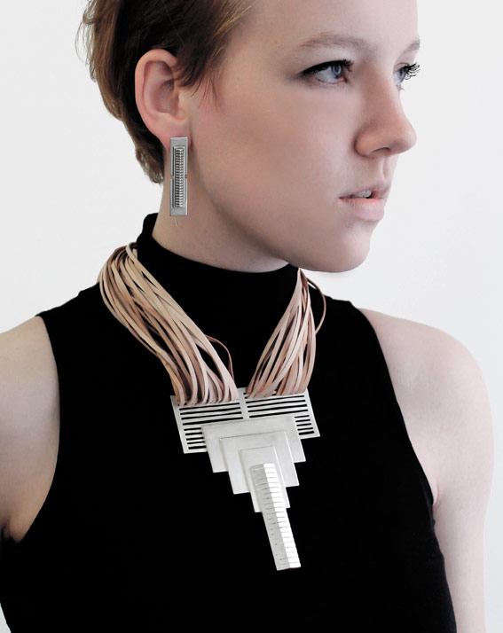 Simone Brewster Jewellery skyscraper necklace 2