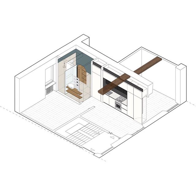 Incro_axonometric view_2019 • • • #llabb #llabbarchitects #incro #renovation #apartment #illustration #axo #axonometric #axonometricillustration #axonometricview #view #graphics #drawing #arch_more #arch_grap #architecturevisualization #illustrarch #archilovers #architecture_lovers #showitbetter #designboom #axo_madness #archisource #next_top_architects #architecturefactor #newgenerationarchitecture #italianarchitecture