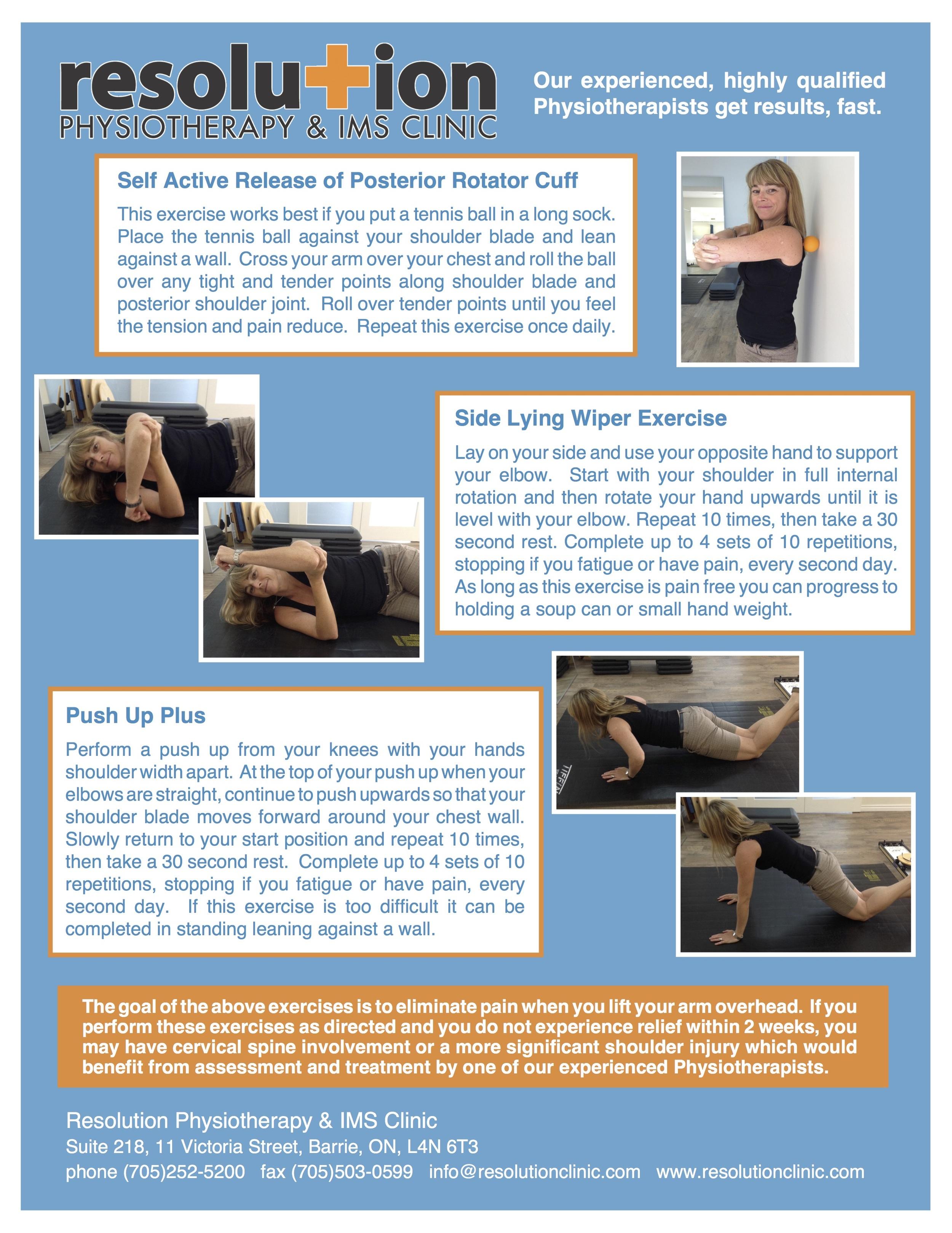Shoulder Impingement Barrie