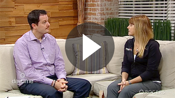 resolution physiotherapist mandi hayes talks about concussion on rogers daytime.