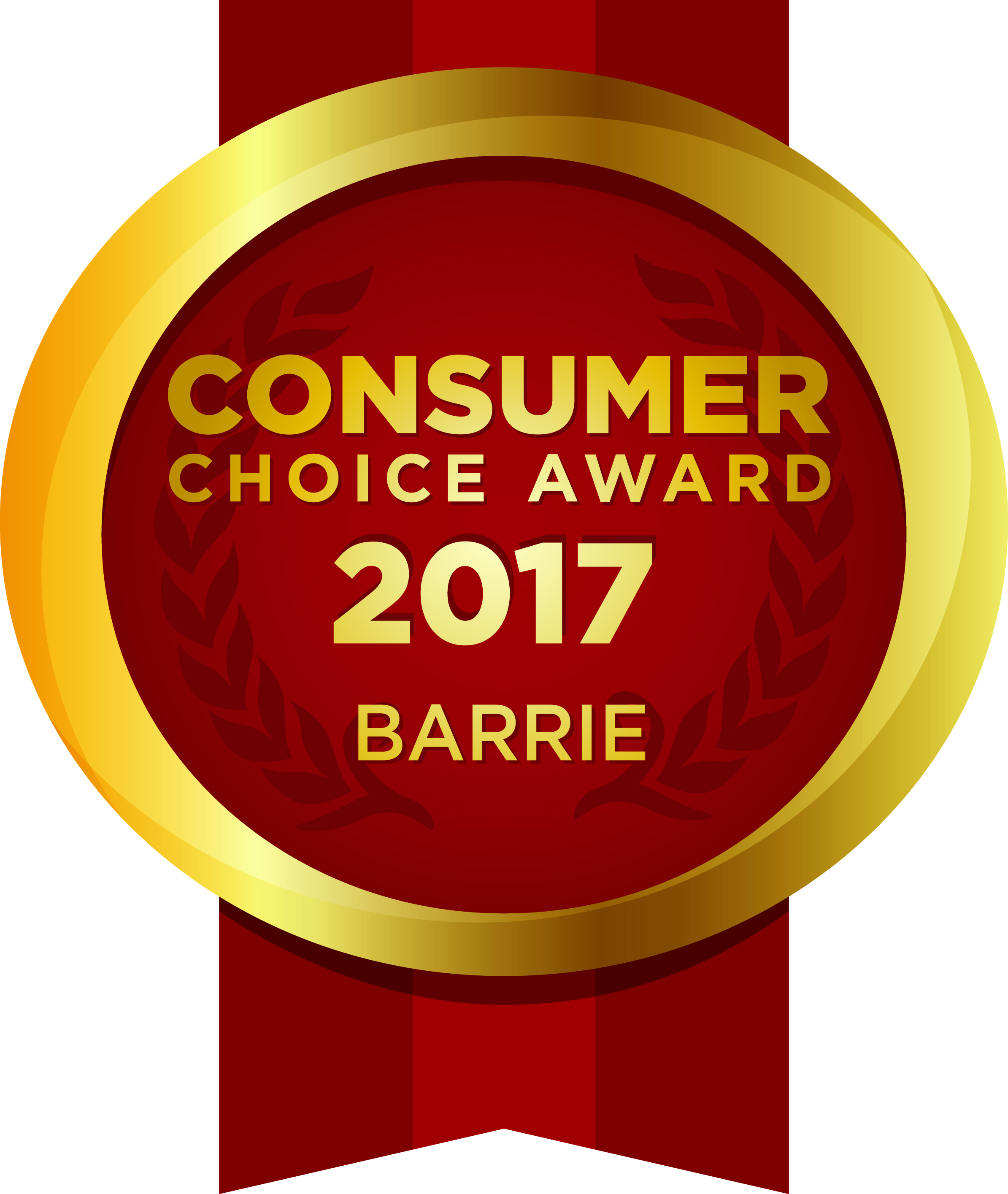 2017 Consumer Choice Award Winner Barrie