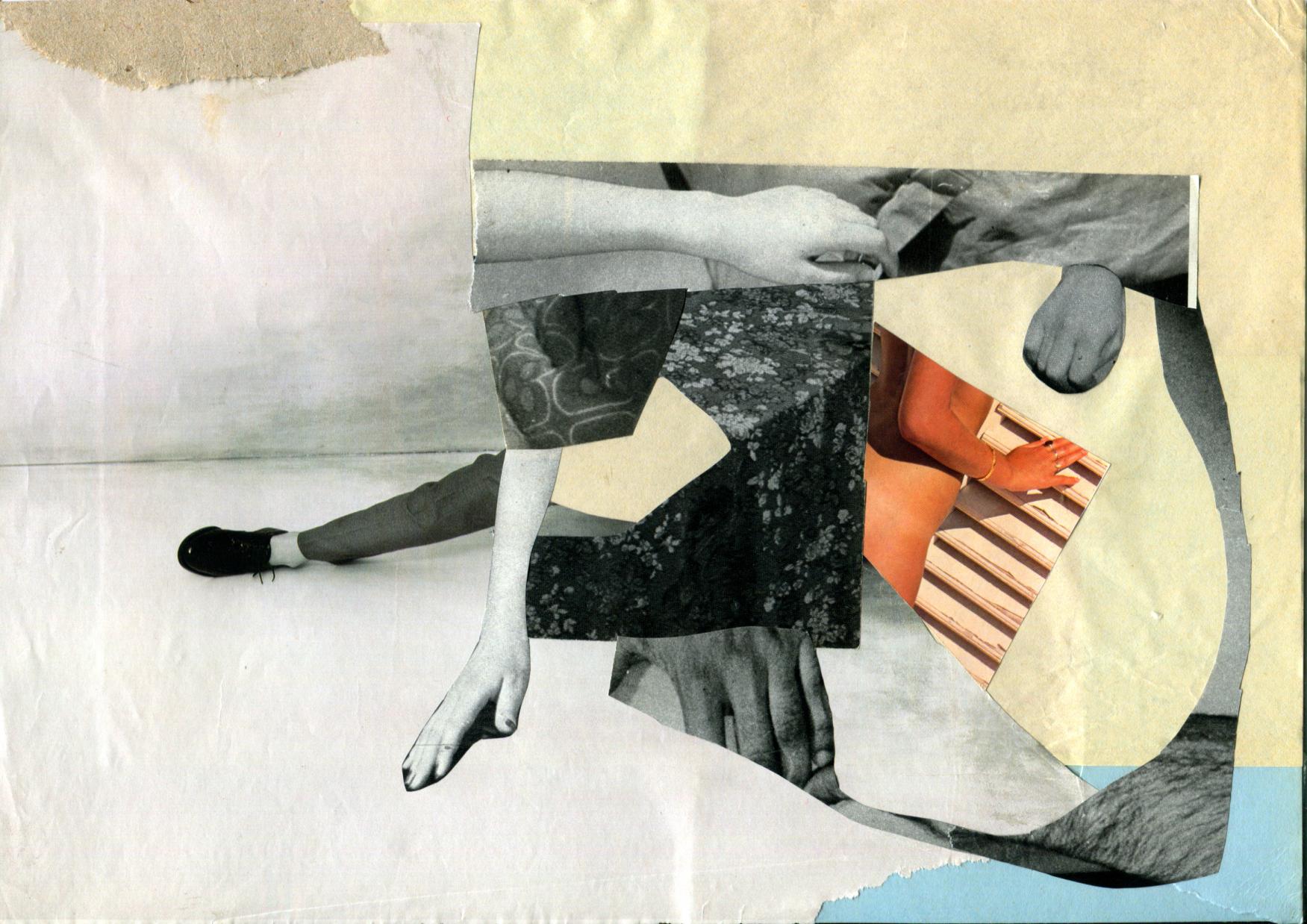 Scraps #3 2012 21x29,7 cm collage on paper
