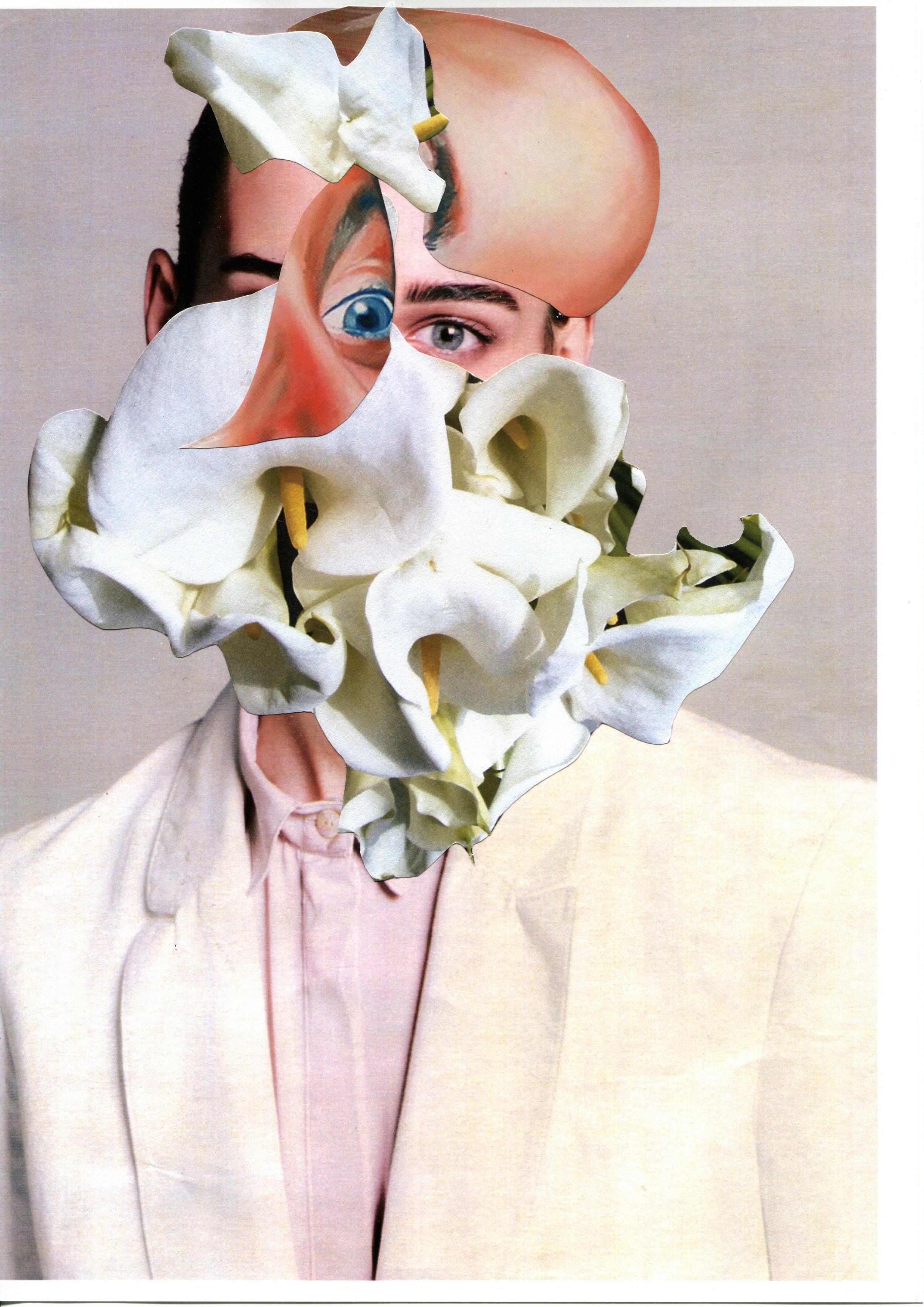 Melt Beauty #2 2015 21 x29,7 cm original collage on paper