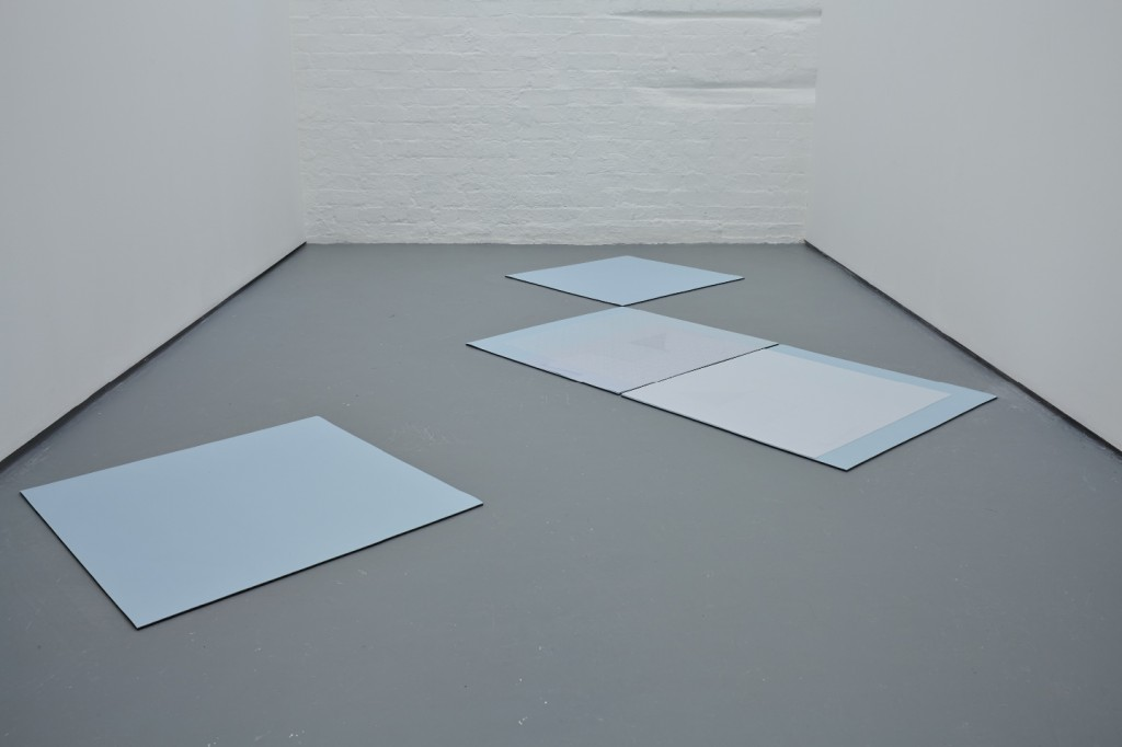 Blue in colour 2013 (fabric, neoprene, paper polyurethane) 310 x 223cm