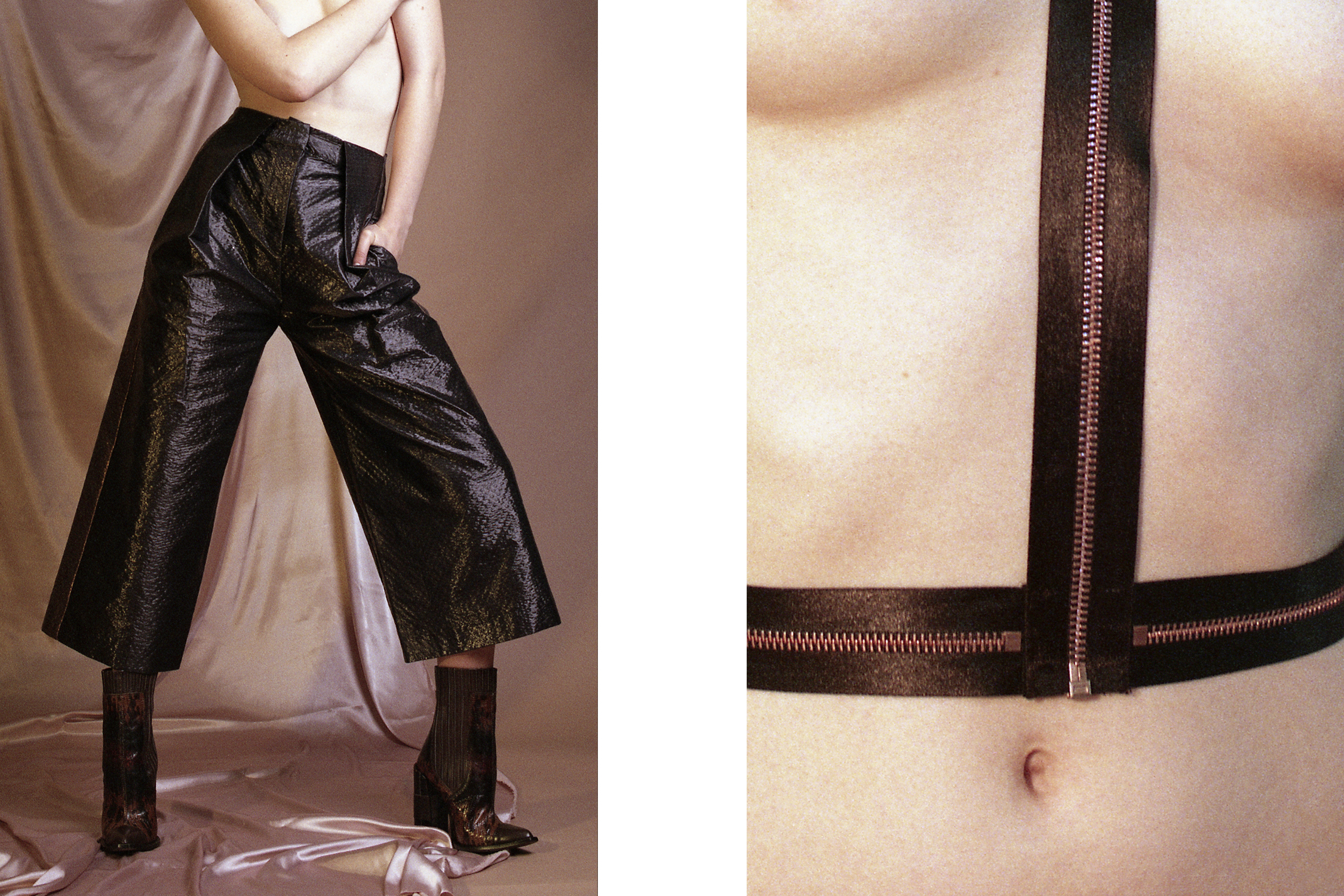 Pants   LP33.3   boots   TOPSHOP .  Zip harness   KISSKILL