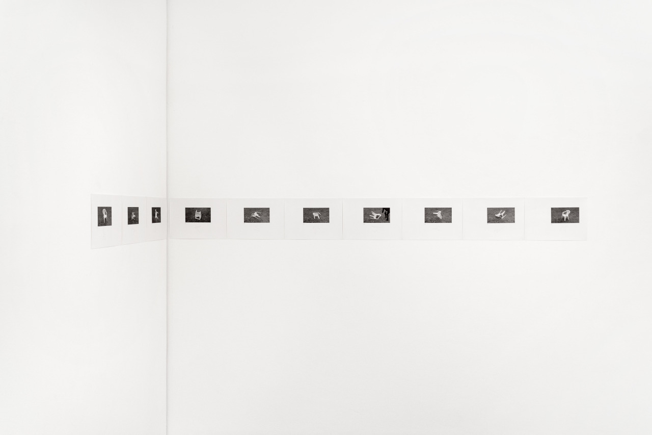 Chiffren fuer zehn Dispositionen, digital print and pencil on paper, each 21 x 29,7 cm, 2015