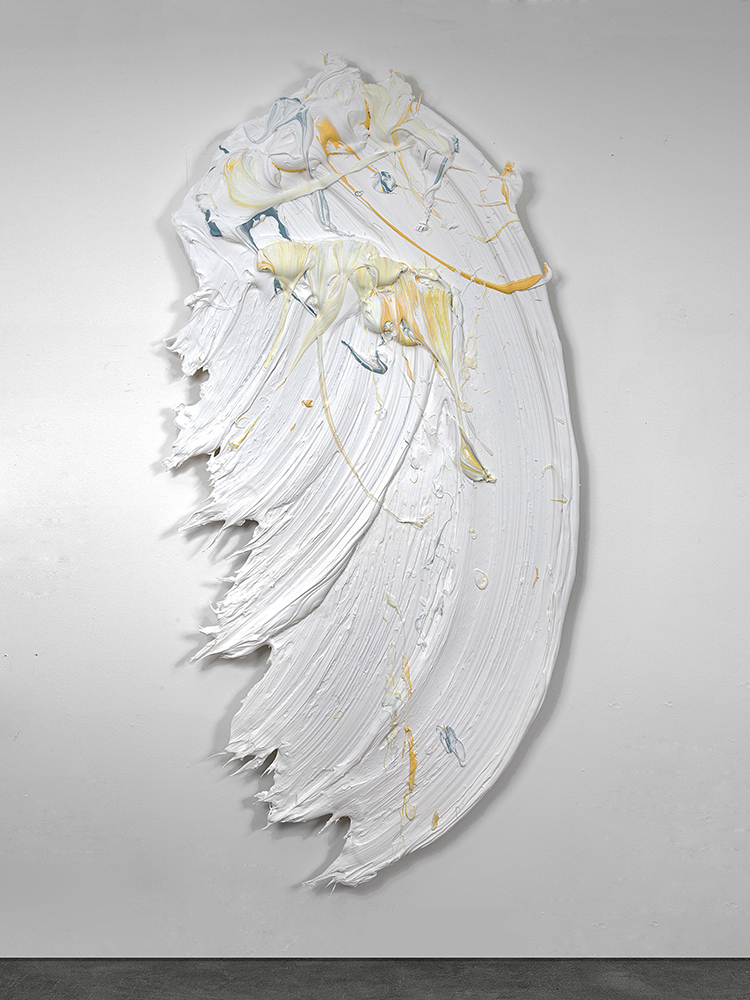 Weyto, 2014, 46 x 91 inches (117 x 2311 cm), polymer and pigment mounted on aluminum