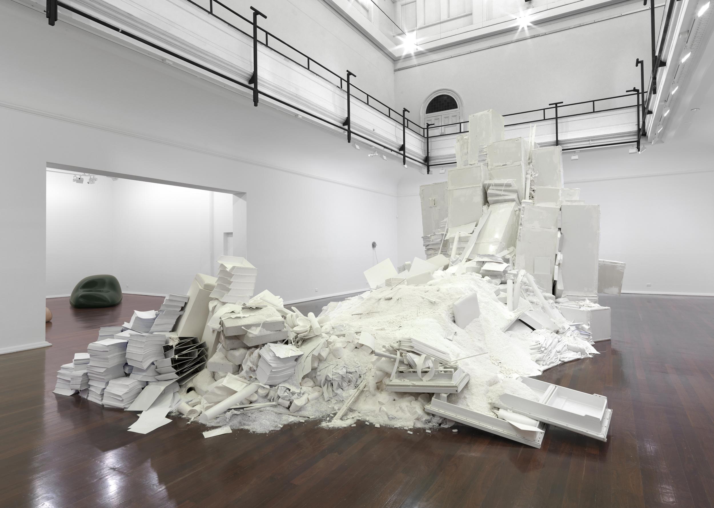 Muda (Perth version), 2012, various materials,approx. 500 x 1000 x 580 cm