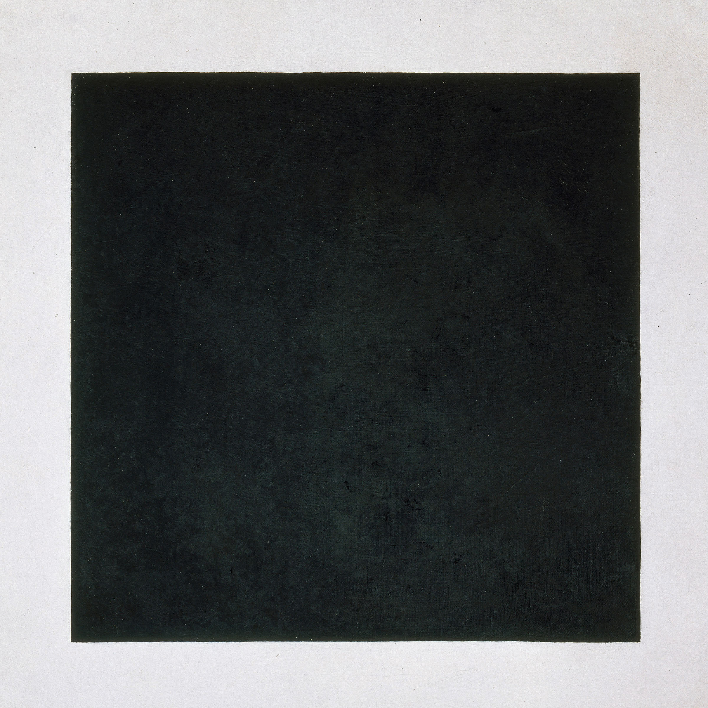 Black Square, 1923, oil on canvas