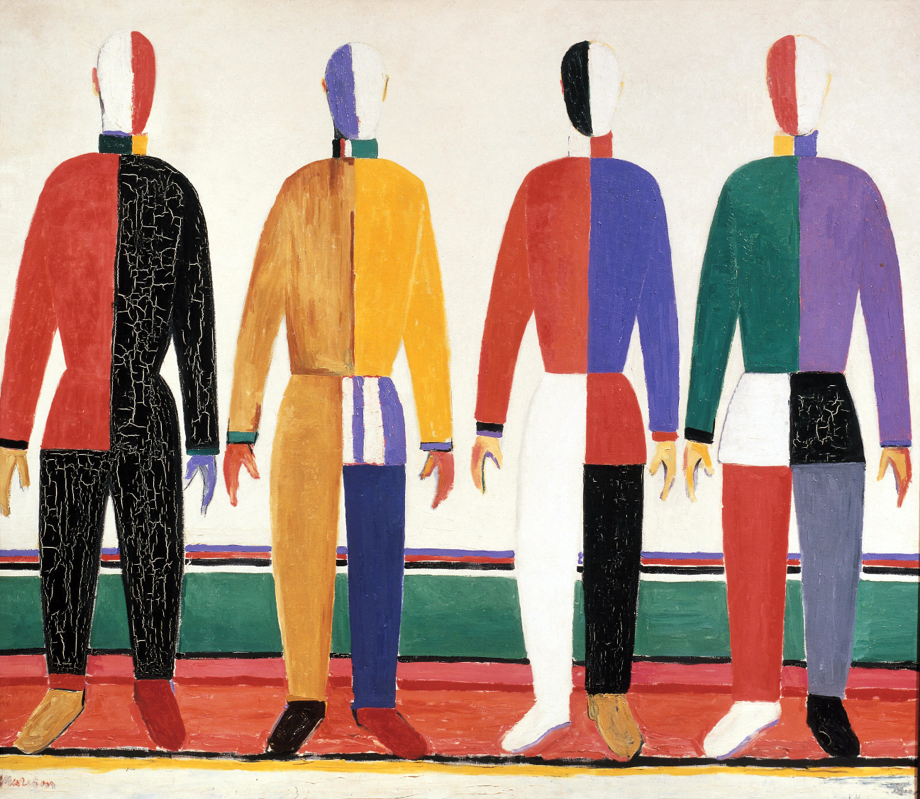 Sportsmen, 1930-31, oil on canvas