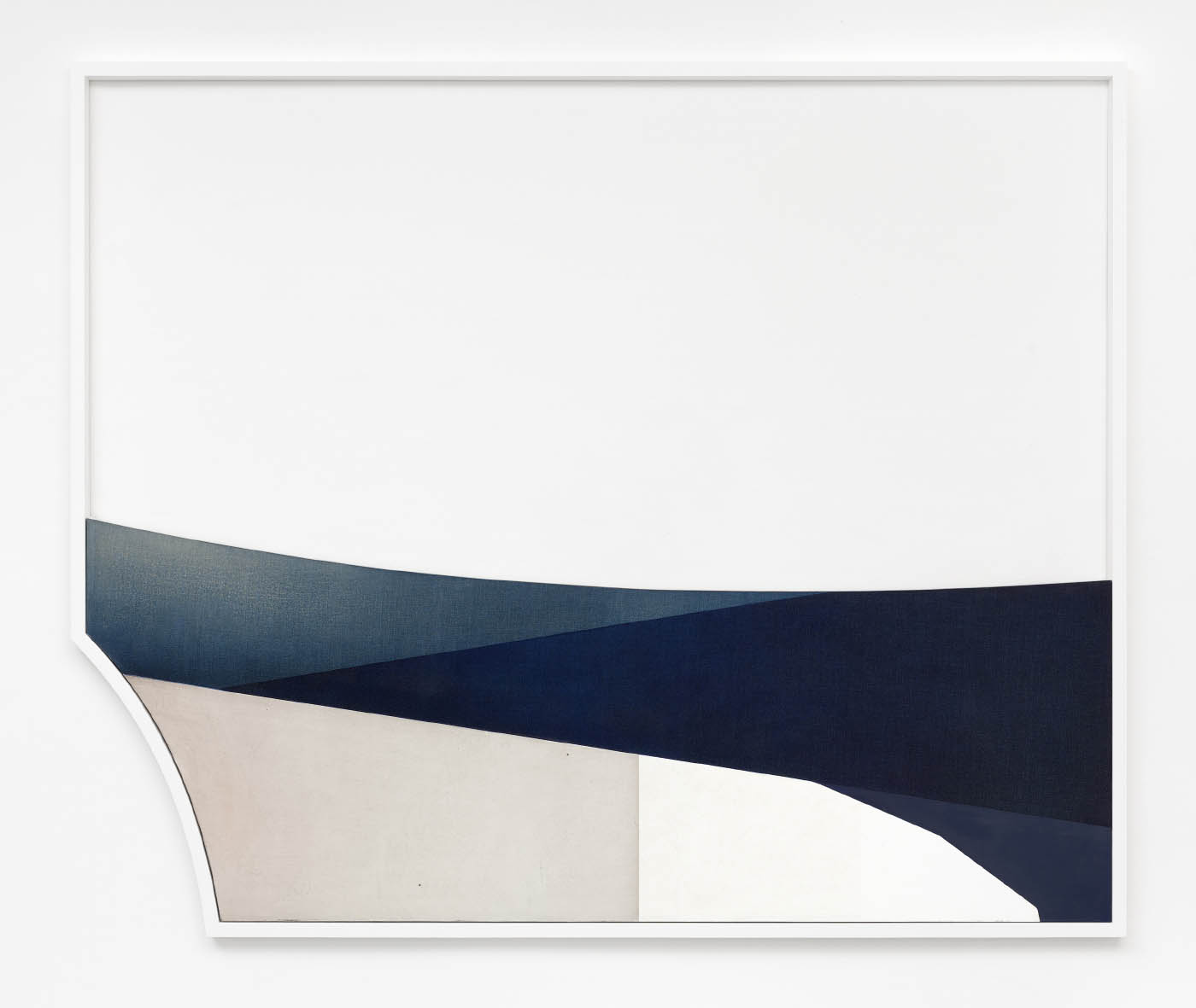 Untitled, 2015, oil on canvas, 70 x 190 cm