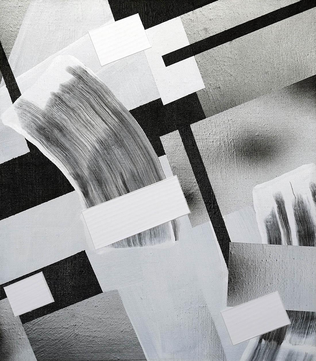 43 Eridani, 2015, acrylic on linen, 14 x 12 cm