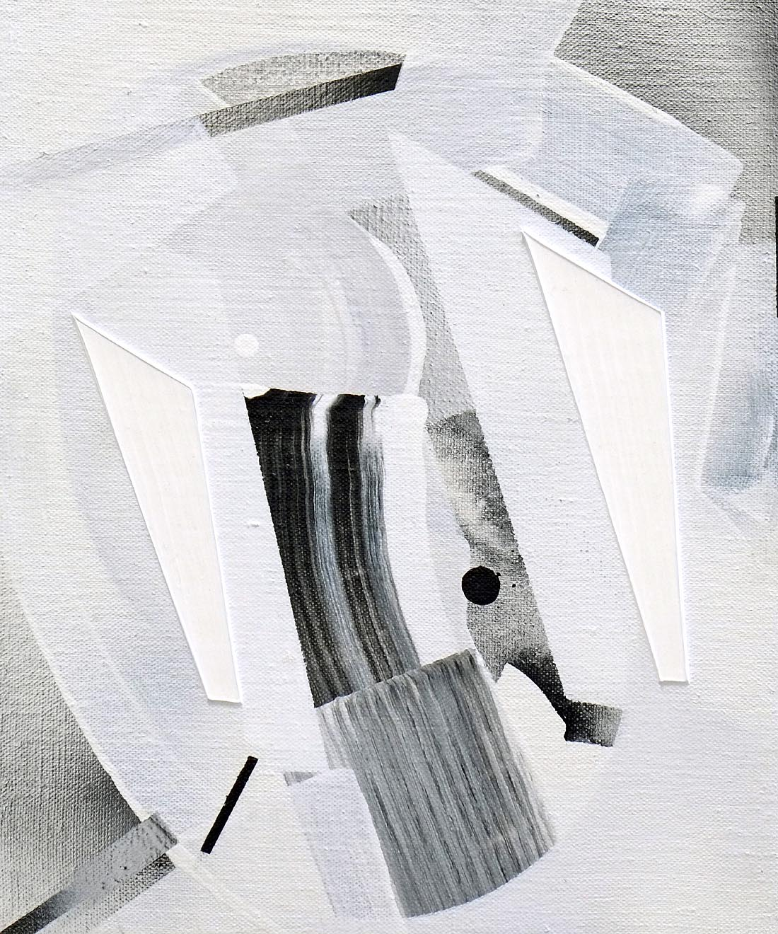 Arkab Prior, 2015, acrylic on linen, 12 x 10 cm