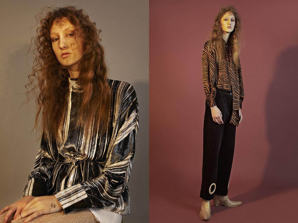 top   JW.ANDERSON  .shirt   SAINT LAURENT   trousers   JACQUEMUS  vintage boots   CHINEMACHINE