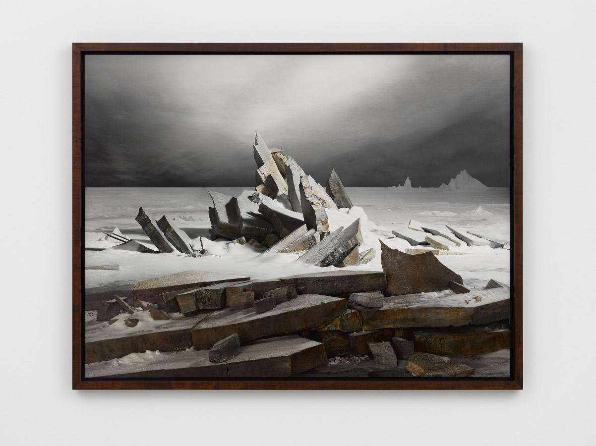 Sea of Ice,2014, digital fine art pigment print,95.9 x 126.4 cm (print)