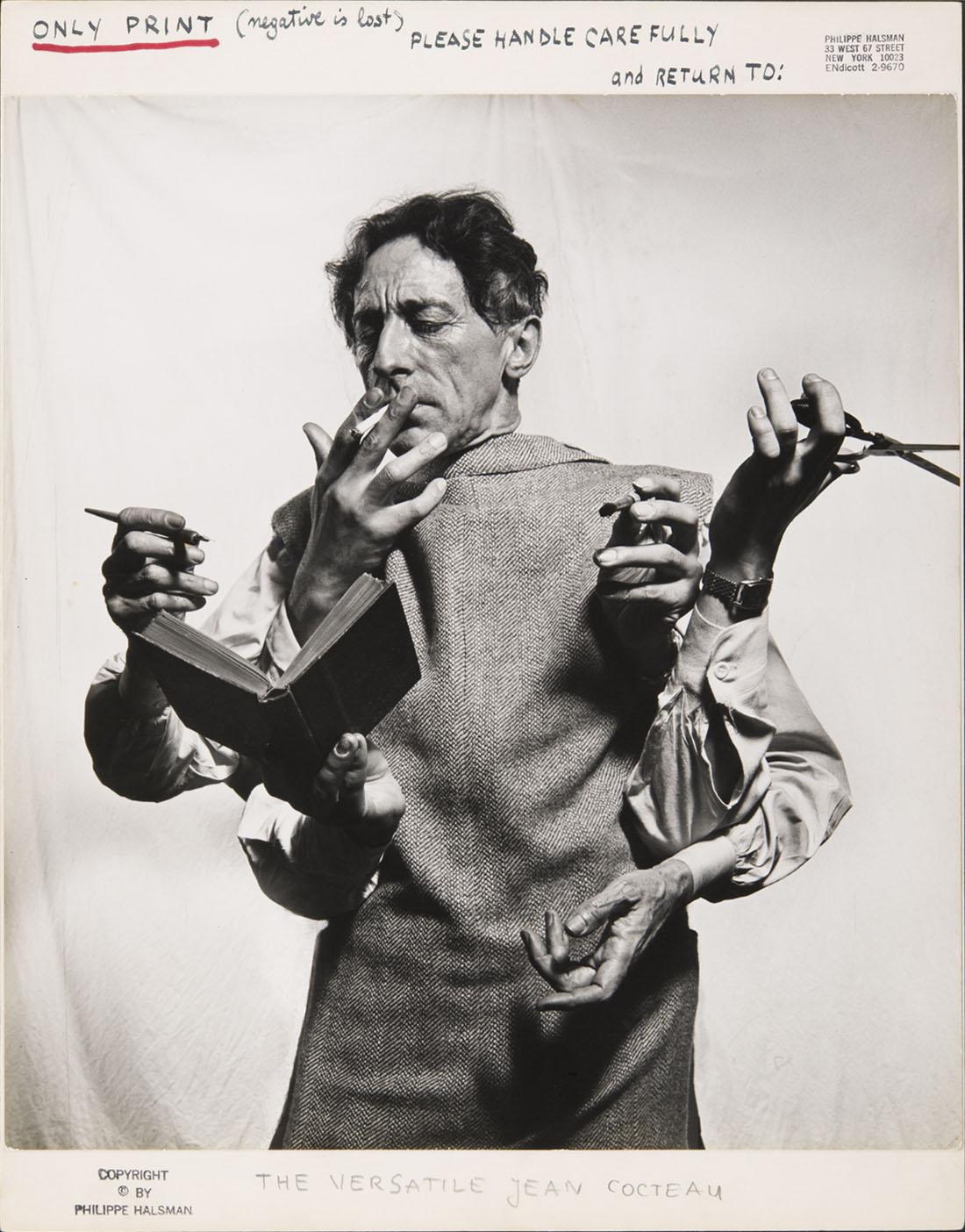 Jean Cocteau, l'artiste multidisciplinaire,1949