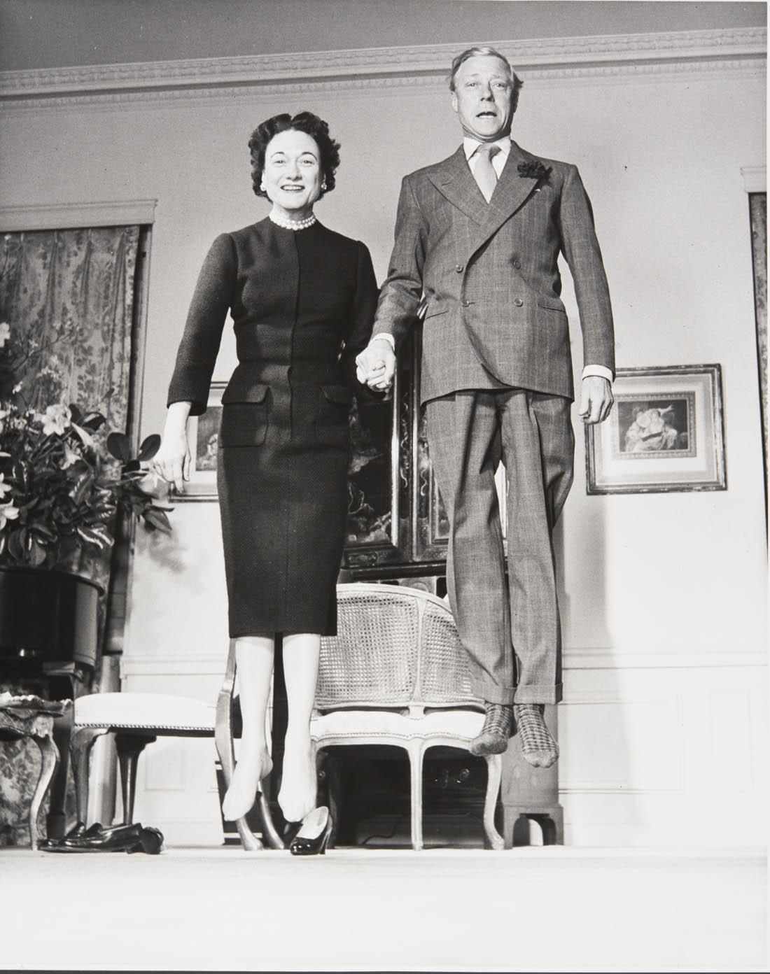 Le Duc et la duchesse de Windsor, 1956