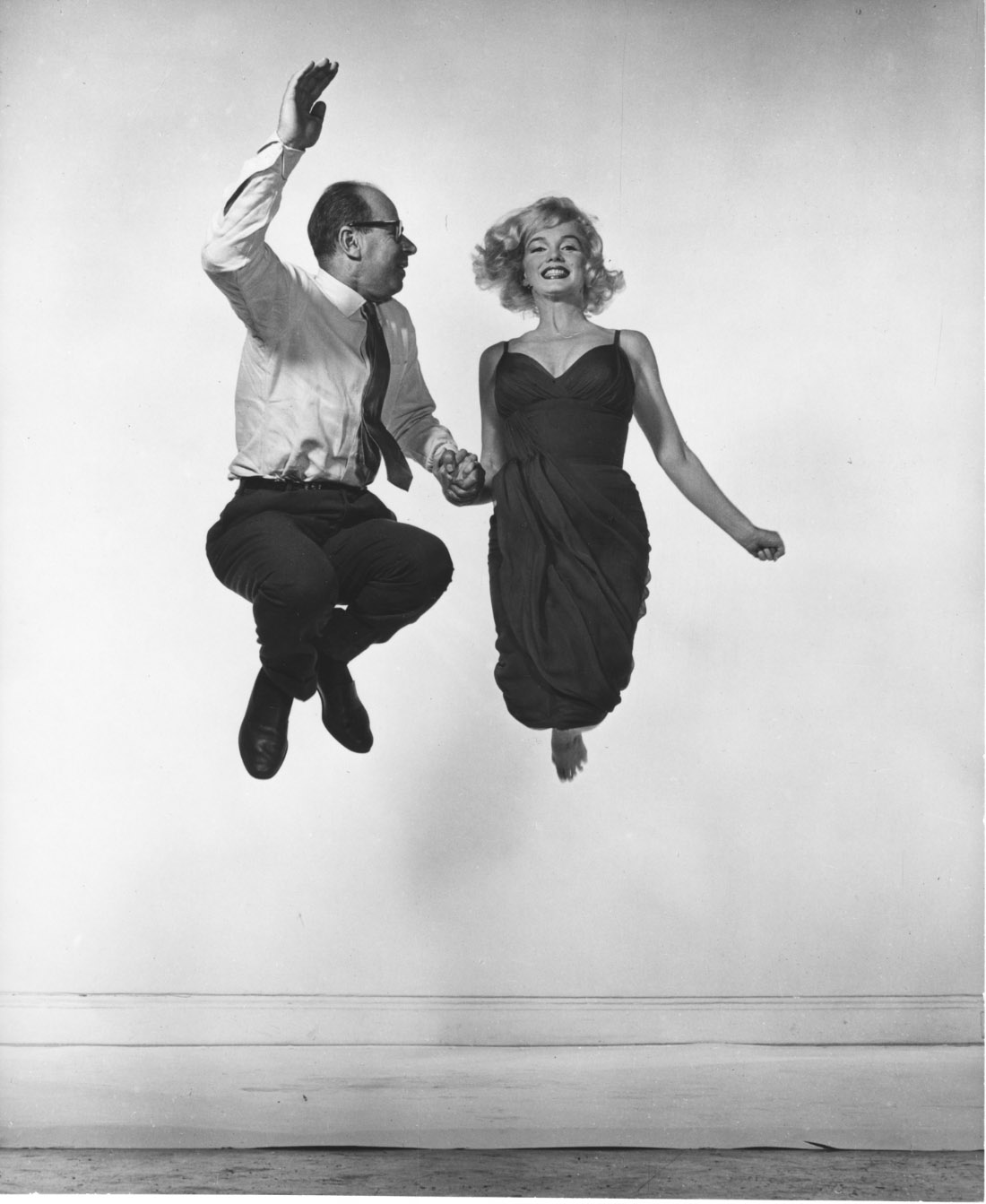 Marilyn Monroe et Philippe Halsman, 1959