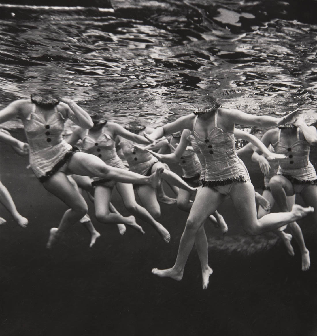 Ballet aquatique, 1953