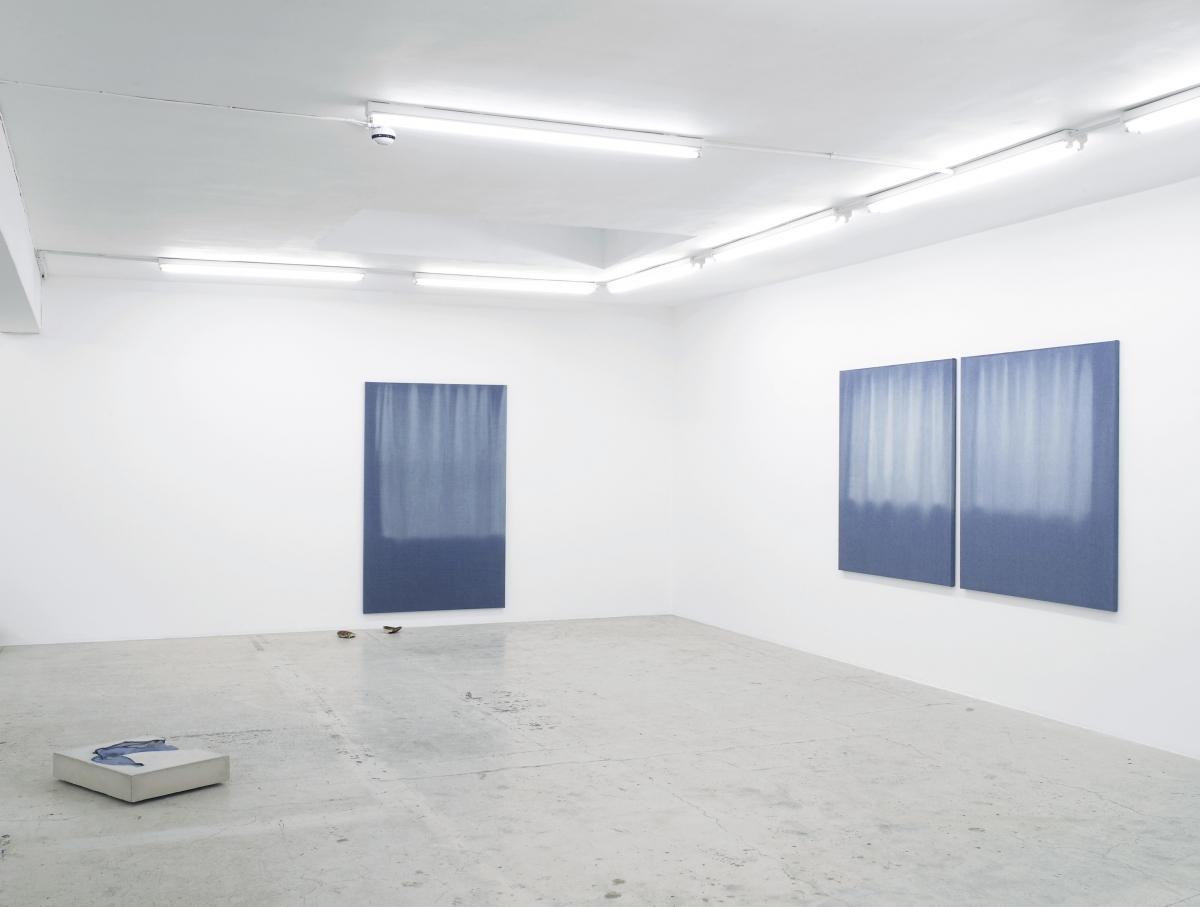 Dip, Installation view, Laura Bartlett Gallery, London, 2014