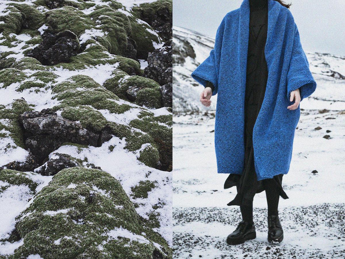 coat   MAGNEA   dress   EYGLÓ  turtleneck dress   HILDUR YEOMAN  tights   WOLFORD   shoes   COS