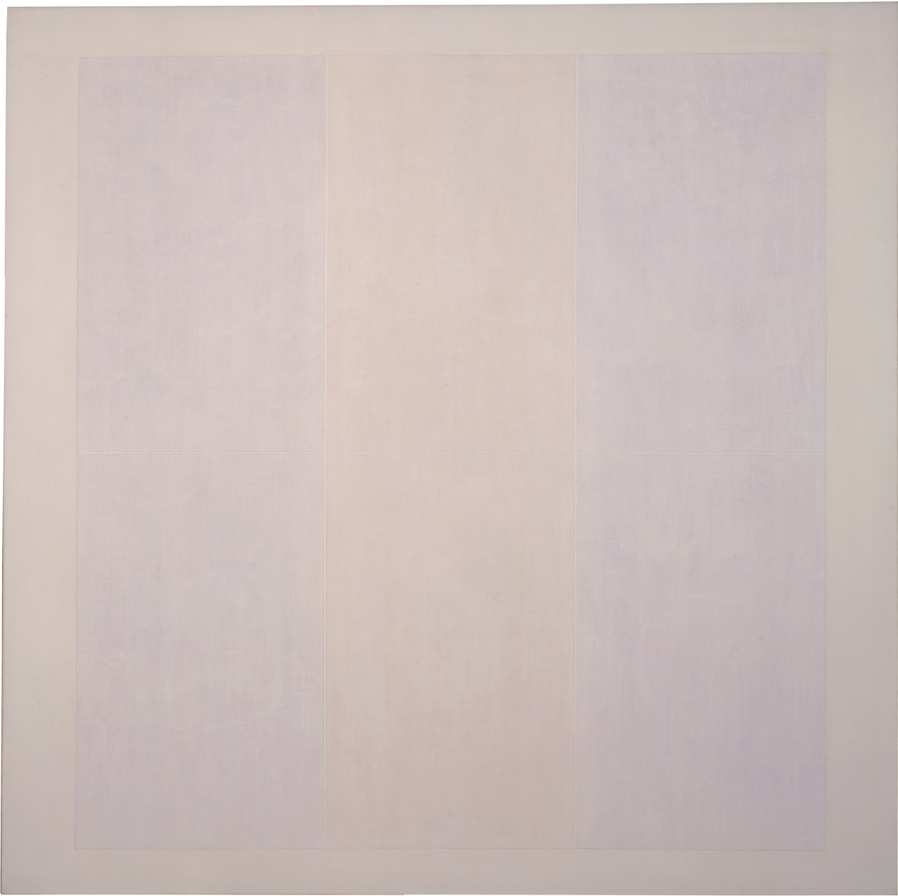 Untitled #3, 1974, acrylic, graphite and plaster on canvas