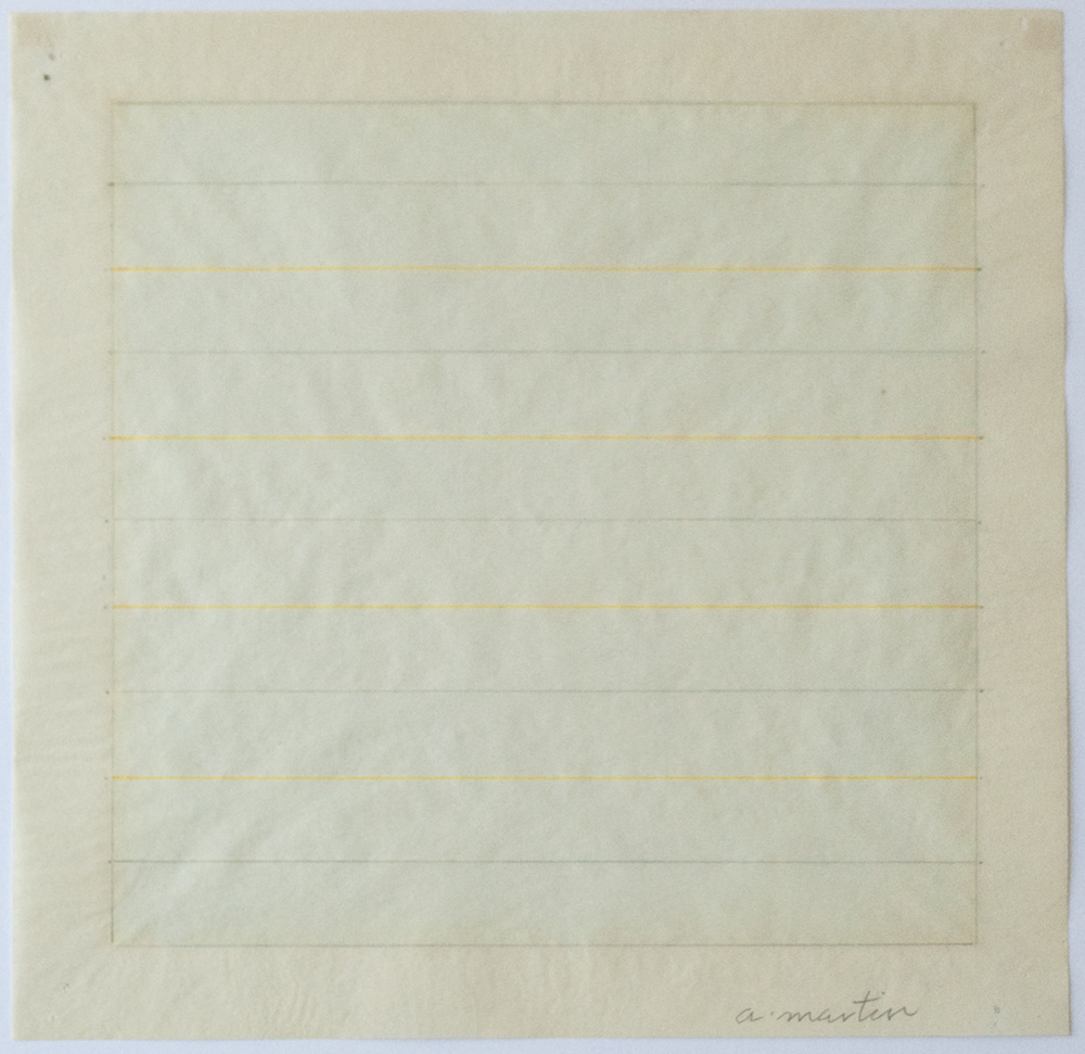 Untitled, 1978, watercolor, ink and pencil on rice paper