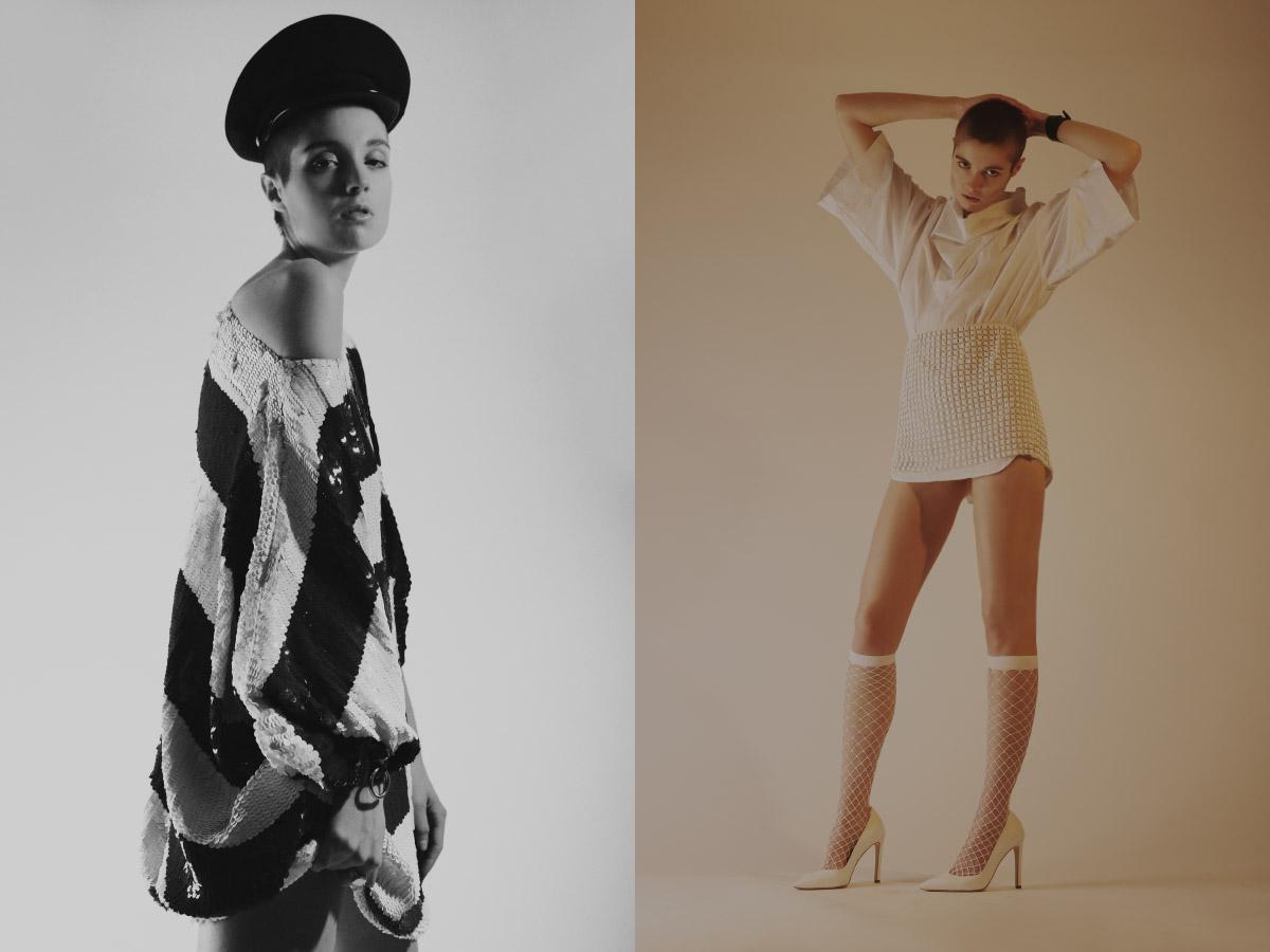 dress   BLUEGIRL  . top   DAMIR DOMA   skirt   AQUILANO RIMONDI  tights   EMILIO CAVALLINI   shoes   GIANVITO ROSSI