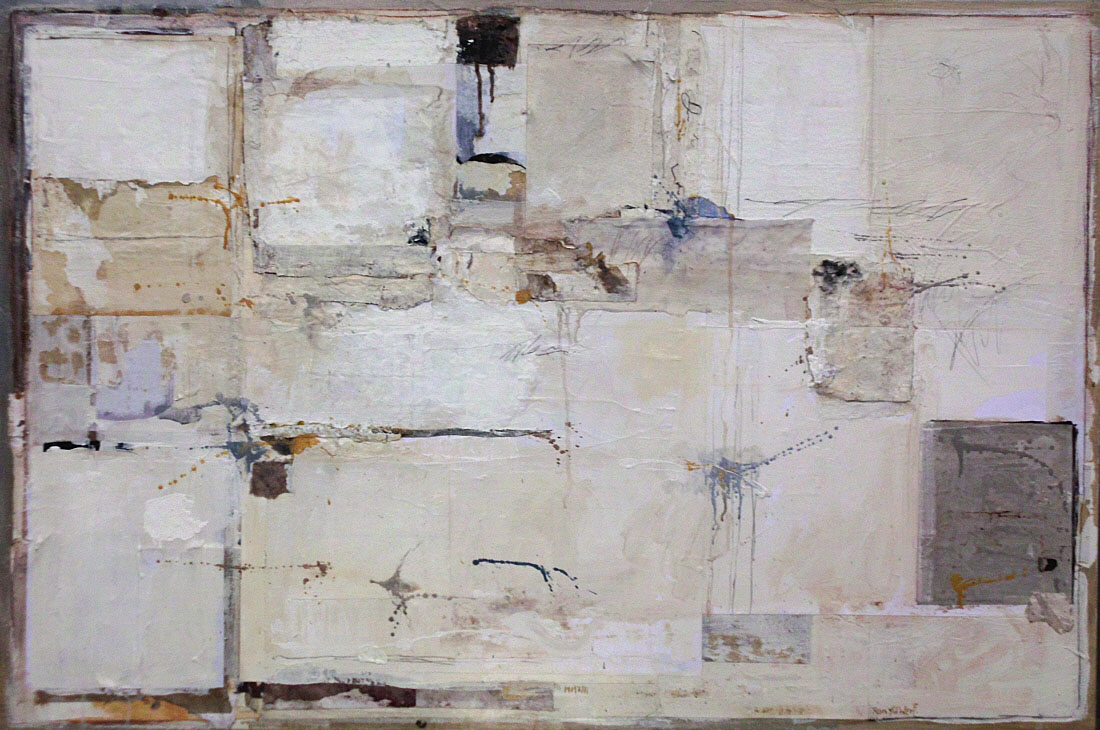 Untitled 2, mixed media on canvas, 80 x 120 cm