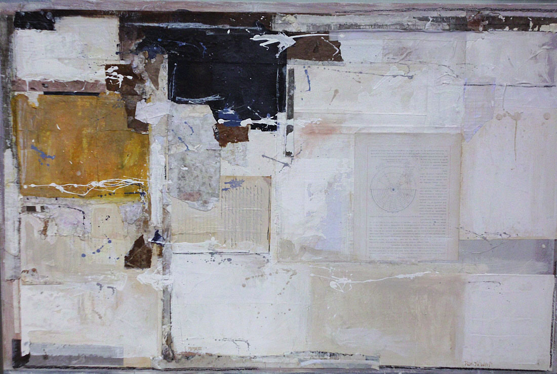 Untitled 5, mixed media on canvas, 80 x 120 cm