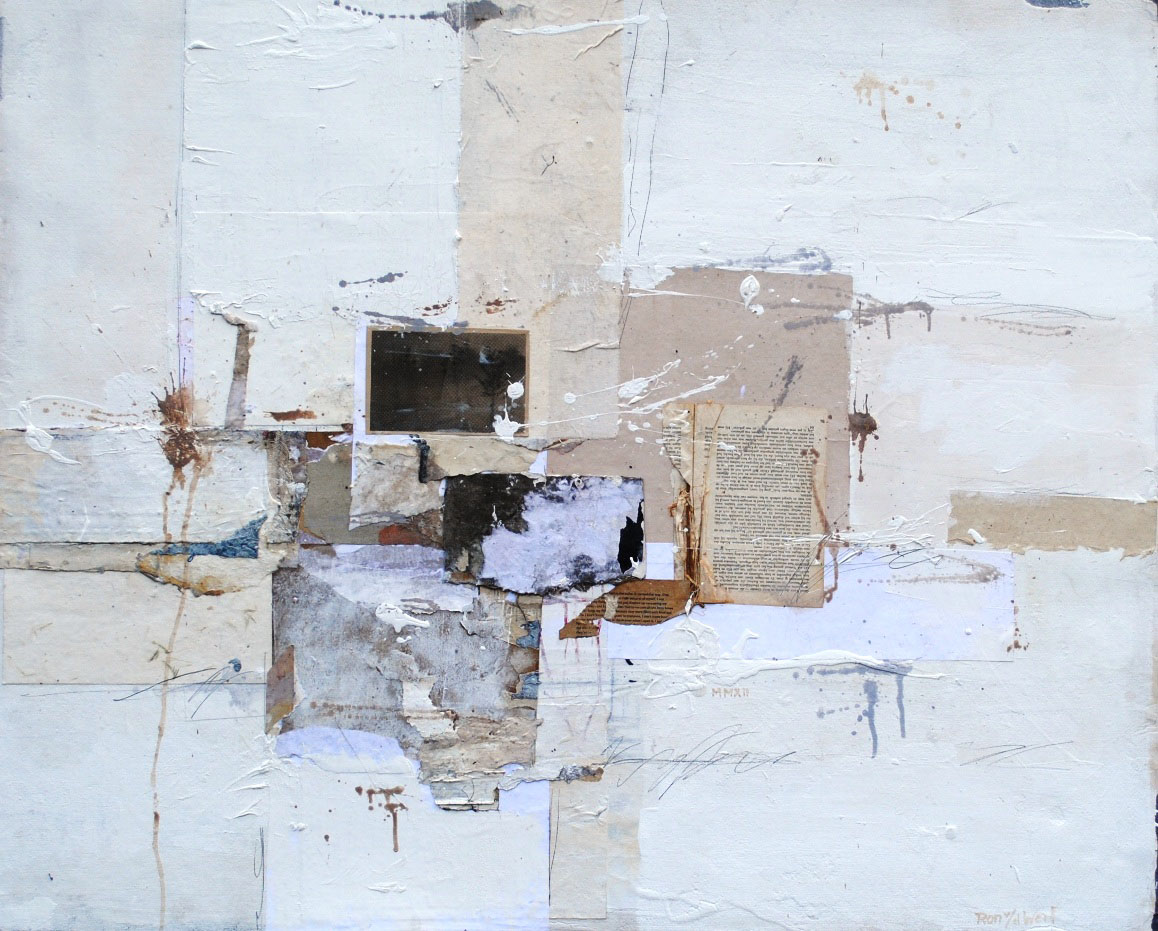 Untitled, mixed media on canvas, 117 x 96 cm