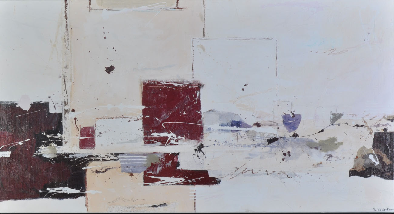Open-minded, 2008, signed silkscreen on canvas, 137 x 75 cm