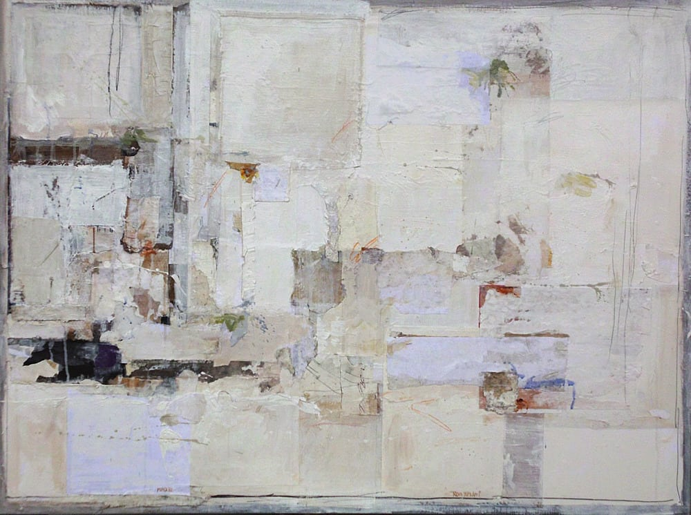 Untitled 1, mixed media on canvas, 90 x 120 cm