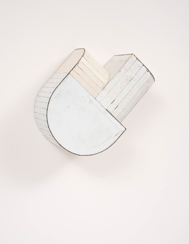Kosher Ham, 2016, Salvage Steel, Marine-grade Plywood, Silicone, Vulcanized Rubber, Hardware, Chemicals, 20.32 x 25.4 x 10.16 cm. Private Collection, New York, New York
