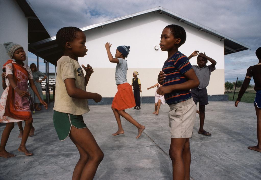 Namibia,Children Playing,1983