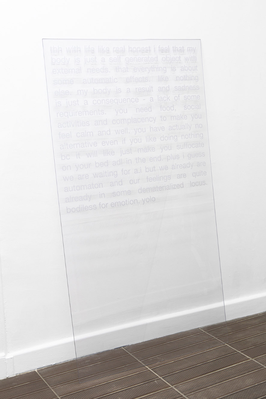 t-board, 2016. 150 x 80 cm. Courtesy Ben Elliot & ARTAGŌN