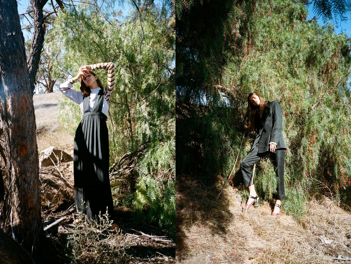 dress   DEVORE POOLE  shirt   NOMIA  sweater   PARI DESAI . jacket and pants   NOMIA  shoes   CELINE   archives
