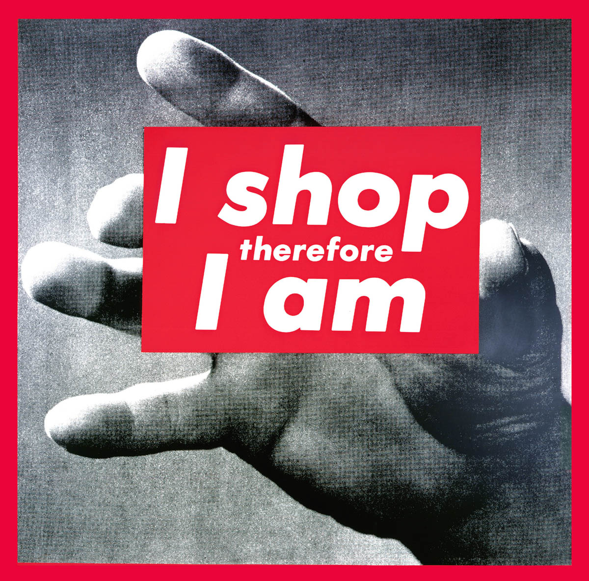 I shop therefore I am, 1989