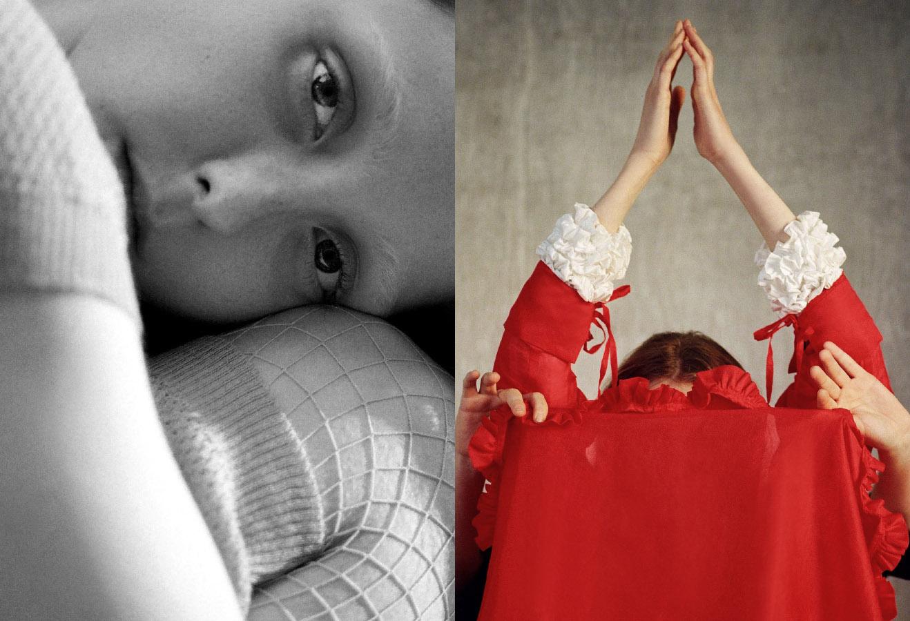 Franny wears dress   ASTRID ANDERSEN  .Franny wears white shirt   CECILIE BAHNSEN  red shirt   MASHAEL ALRAJHI