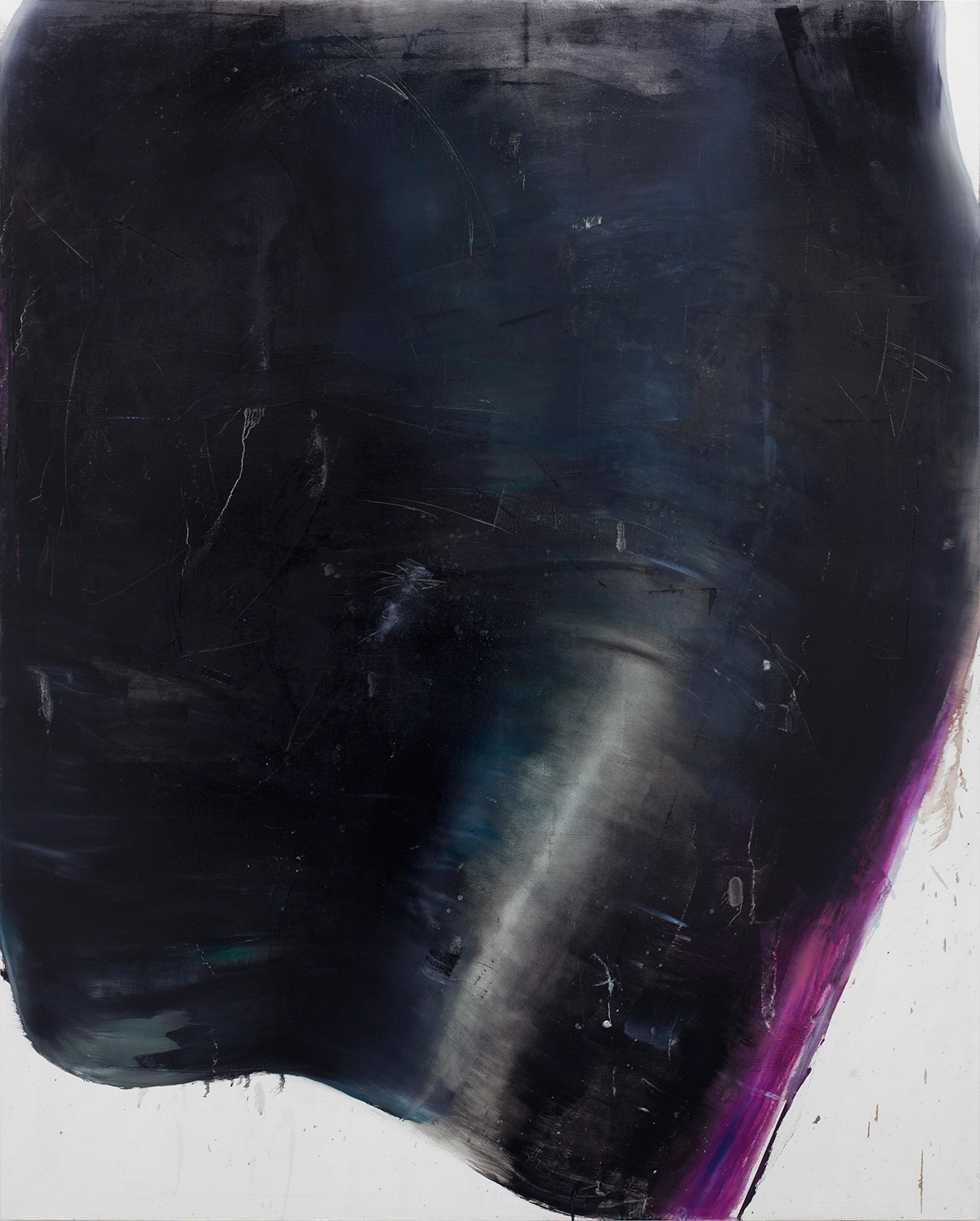 Corona, 2015, oil on canvas, 200 x 165 cm