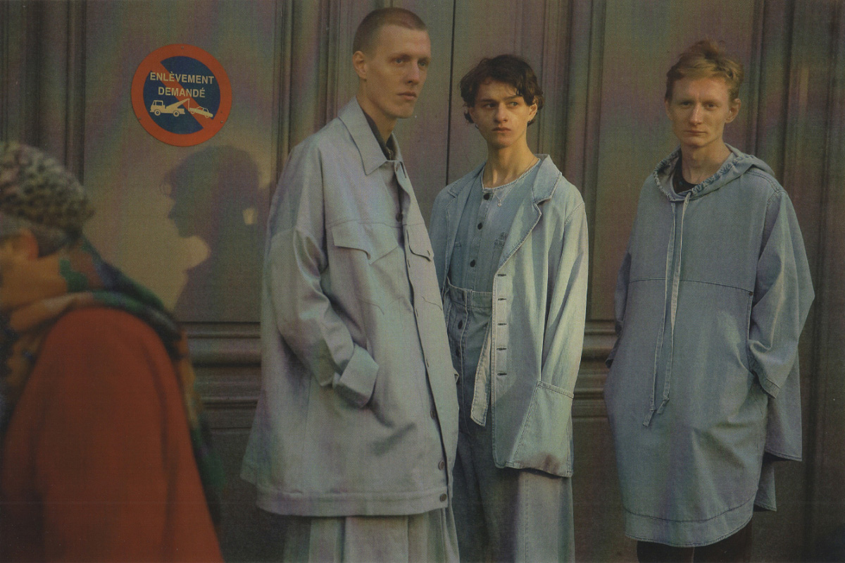 Splint wears jacket and pants   HOUSE OF THE VERY ISLAND'S  . Albus wears shirt, overall and jacket   69  . Zorian wears pullover   69  pants  MODEL'S OWN