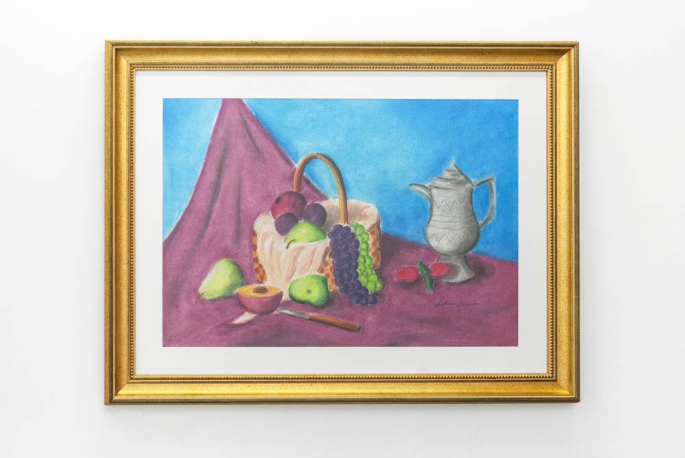 Still Life, 1993 1993 - 2016, Pastel on paper, framed, 60 x 77 cm