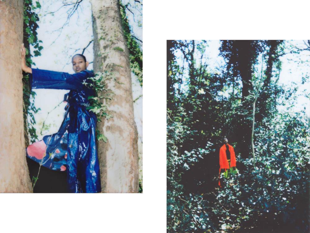 coat   MARIA PIANKOV  dress   EUDON CHOI  skirt   CELINE . jacket and sweater   PAUL & YAKOV  shorts   FREYA DALSJO