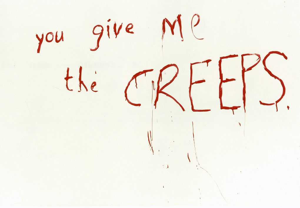 You Give Me The Creeps, 2000.Image courtesy of Goodman Gallery