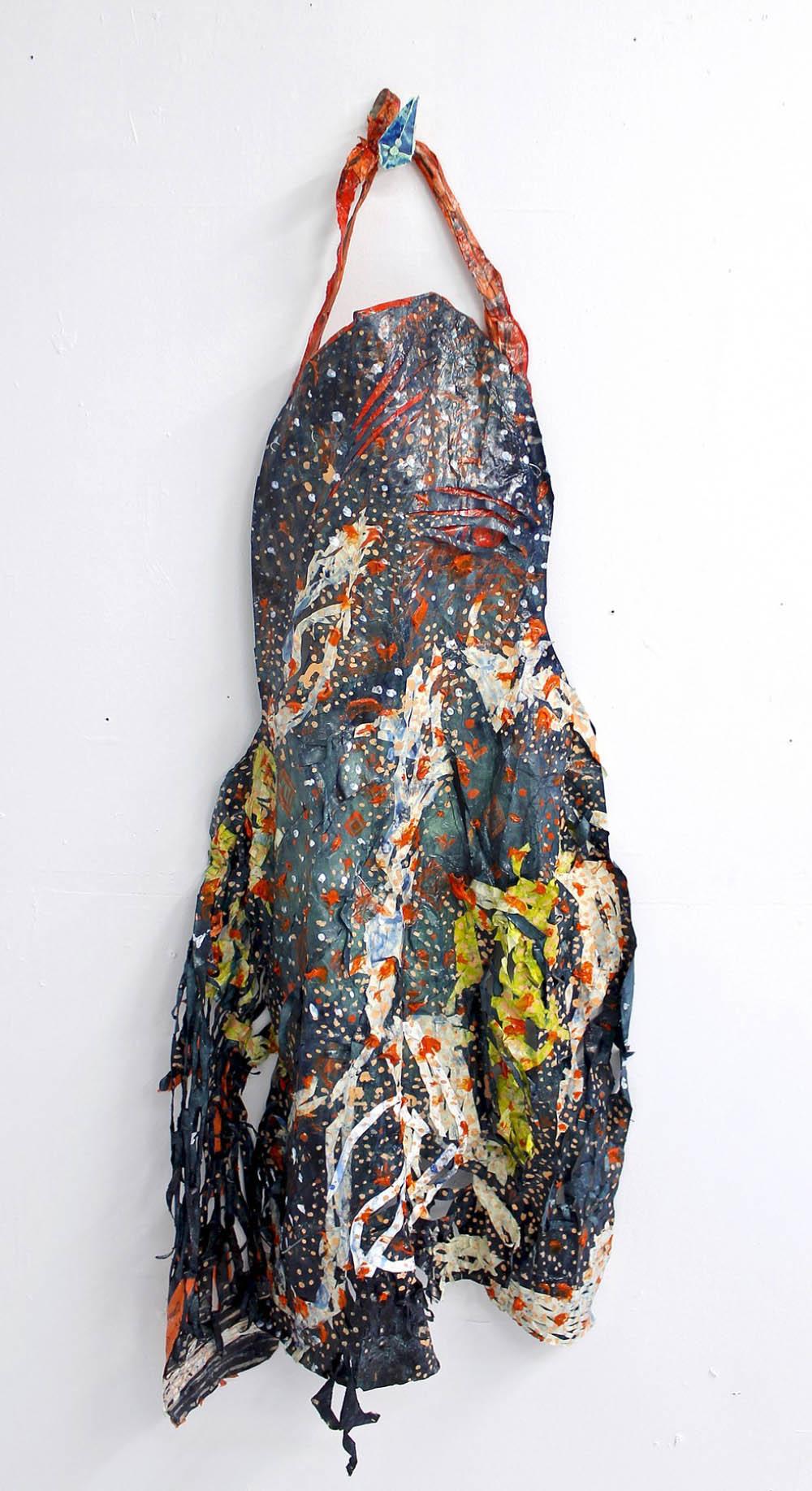 Sweatshirt, 2014, Acrylic, Ink and Fabric Dye on Paper