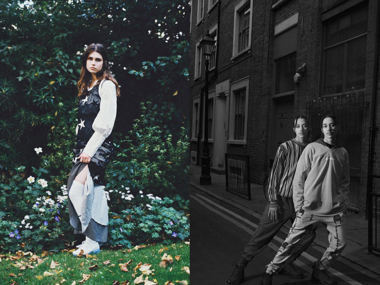 star vest   THEORY     dress   HOUSE OF HOLLAND   socks   NIKE     trainers   NIKE  . sweater     COOGI     pants   Y3   ,  top   SUPREME     hoody   NIKE     pants   CHAMPION